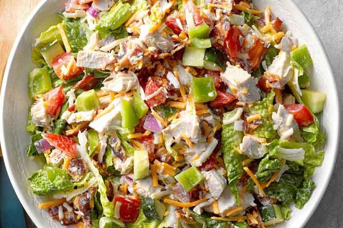 turkey Salad keto